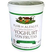 Yogurt Manzana - Canela Flor de Alfalfa 1 L.