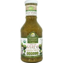 Salsa organica verde San Miguel 450g