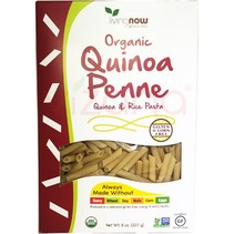 Pasta de Quinoa Penne Orgánica Sin Gluten Now 227 gr.
