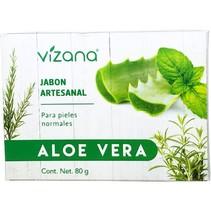Jabón Natural Aloe Vera Vizana 80 gr.