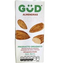 Leche de Almendra Orgánica GüD 1 L.