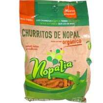 Churritos de Nopal Nopalia 250g