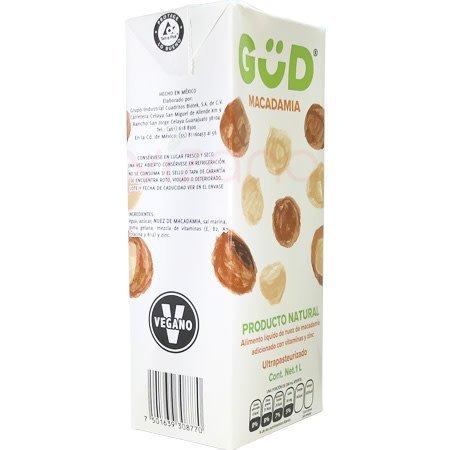 Leche de Macadamia GüD1 L.