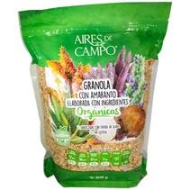 Granola con Amaranto y Jarabe de Agave ADC 600 gr.