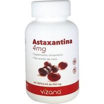 Astaxantina en Capsulas Orgánicas Vizana 60-450mg