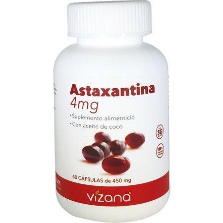 Astaxantina en Capsulas Orgánicas 60-450mg