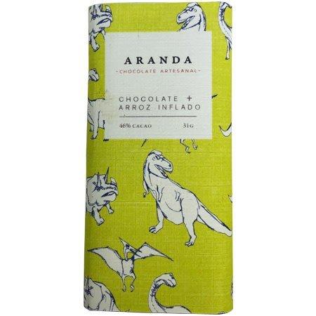 Chocolate + Arroz Inflado 46% Cacao Aranda 31 gr.