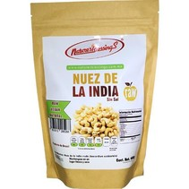 Nuez de la India Entera Cruda Natural NB 400 gr.
