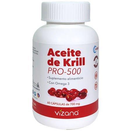 Aceite de Krill en Capsulas Orgánicas Vizana  60-700mg