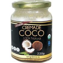 Crema de Coco Untable sin Azucar Saweya  240 g