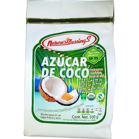 Azucar de Savia de Flor de Palma de Coco Organico NB 500g