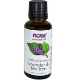 Aceite Esencial de Lavanda y Arbol de Te Now 30 ml.