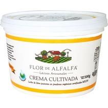 Crema Cultivada Flor de Alfalfa 500 gr.