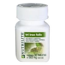 Tri Iron Folic Nutrilite 90tab-583mg