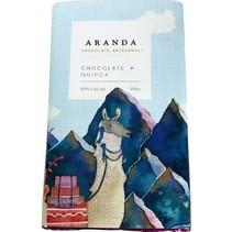 Chocolate + Quinoa 85% Cacao Aranda 100 gr.