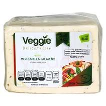 Queso Vegano Mozzarella jalapeño Veggie Delicatessen 250 gr.