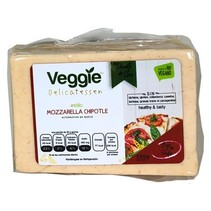 Queso Vegano Mozzarella Chipotle  Veggie Delicatessen 250 gr.