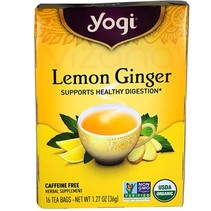 Té de Jengibre y Limón Yogi 32 gr.