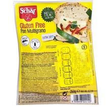 Pan Multigrano Libre de Gluten Schar 250gr
