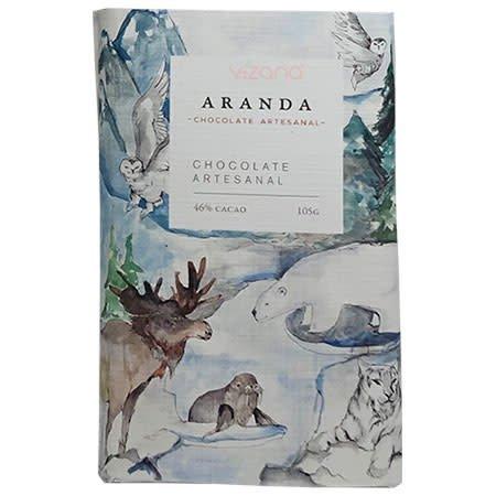 Chocolate Libre de Azúcar 46% Cacao Aranda 100 gr.