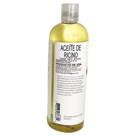 Aceite de Ricino Now 473ml