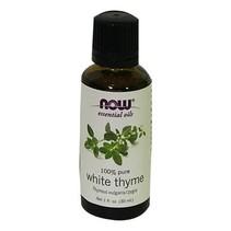 Aceite Esencial de Tomillo Blanco Now 30 ml