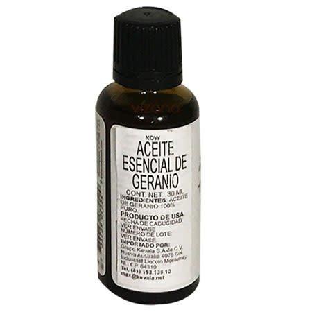 Aceite Esencial de Geranio Now 30 ml