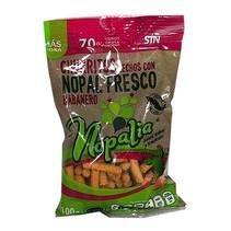 Churritos de Nopal Con Habanero Nopalia 100 gr.