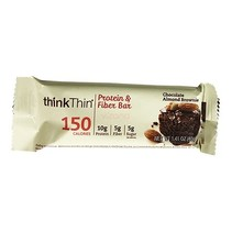 Barra Proteica Chocolate y Almendra ThinkThin 40gr