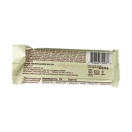 Barra Proteica Chocolate y Almendra ThinkThin 40gr