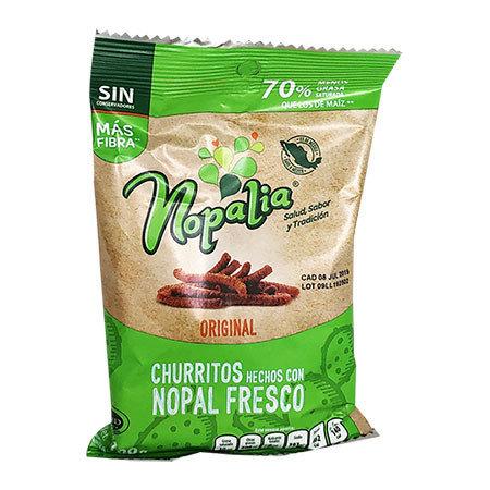 Churritos de Nopal Nopalia 100 gr.