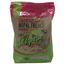 Churritos de Nopal Con Habanero Nopalia 750 gr.