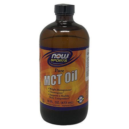 Aceite de MCT Puro Now Sports 473ml