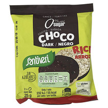 Tortitas de Arroz con Cacao Santiveri 25gr