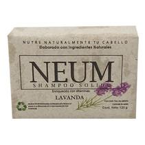 Shampoo Solido Lavanda Neum 120gr
