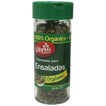 Sazonador para Ensaladas Organico Utopia 21g