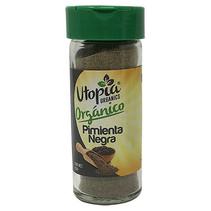 Pimienta Negra Orgánica Utopia 55g