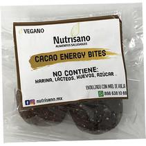 Cacao Energy Bites Nutrisano 2 pzas