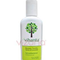 Gel Antibacterial Romero Tomillo Salvia y Lavanda Vihanta 125 mg.