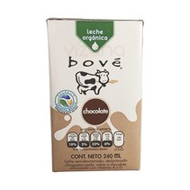 Leche de Chocolate Orgánico Bové 240 ml.