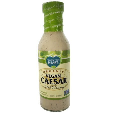 Aderezo Orgánico Vegano Tipo Caesar 355 ml.