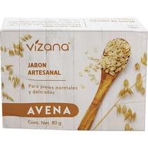 Jabón Natural de Avena Vizana 80 gr.