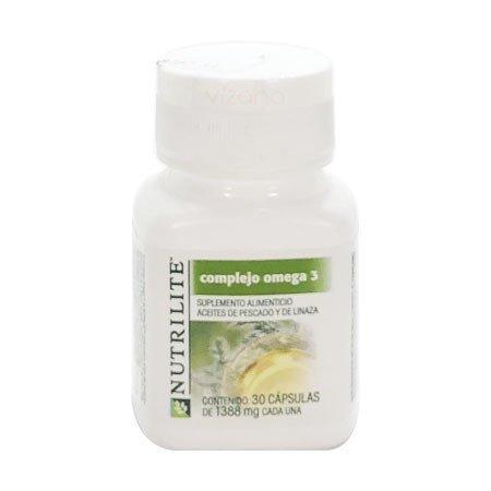 Complejo Omega 3 Nutrilite 30-1388 mg.