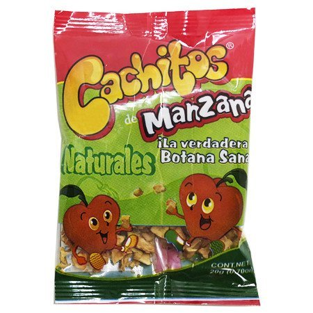 Cachitos de Manzana Natural Saweya 20 gr.