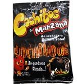 Cachitos de Manzana Enchilados Saweya 20 gr.