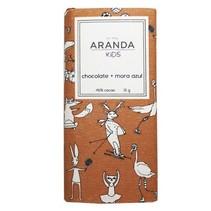 Chocolate + Mora Azul 46% de Cacao Aranda Kids 31 gr.