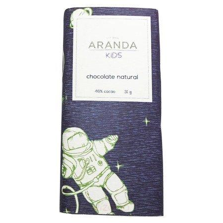 Chocolate Natural 46% Cacao Aranda Kids 31 gr.