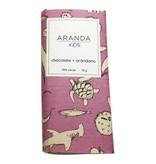 Chocolate + Arándano  46% Cacao Aranda Kids 31 gr.