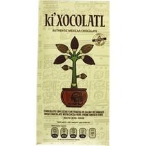 Chocolate con Leche y Cacao NIBS 36.6% Cacao Ki Xocolatl 80 gr.