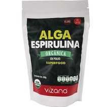 Alga Espirulina Orgánica en Polvo Vizana 200 gr.